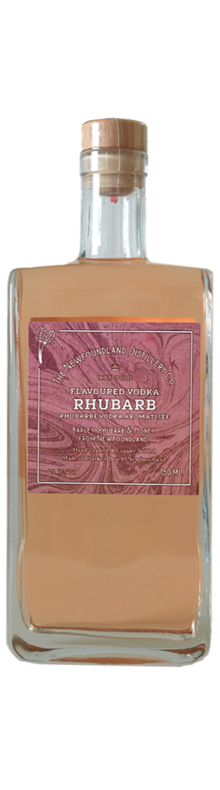Rhubarb Flavoured Vodka
